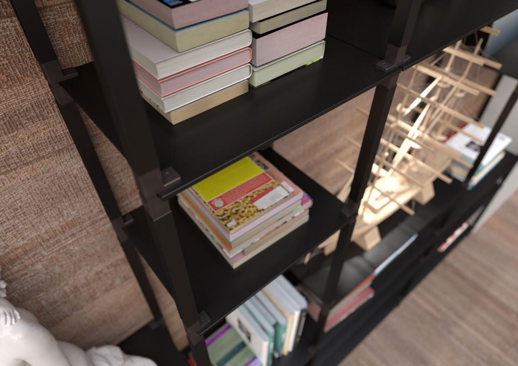 stabiles Bücherregal