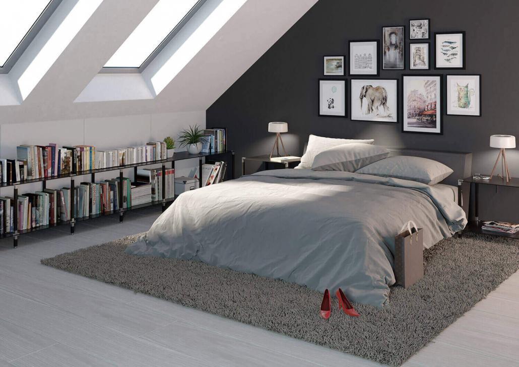 Sideboard für Dachschräge