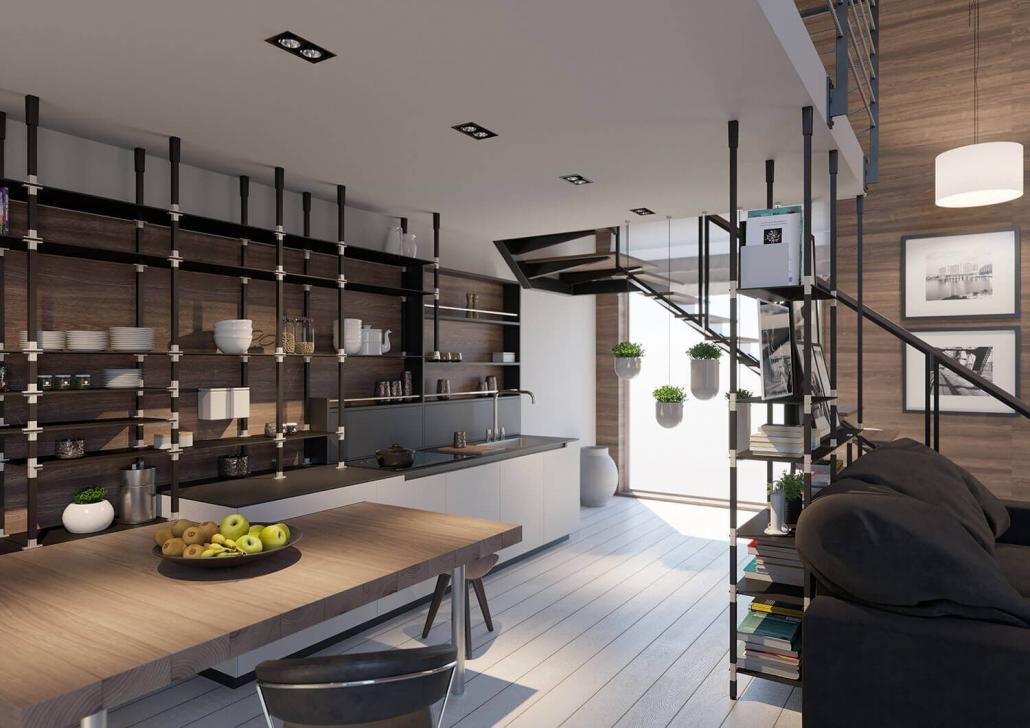 Küchenregalsystem