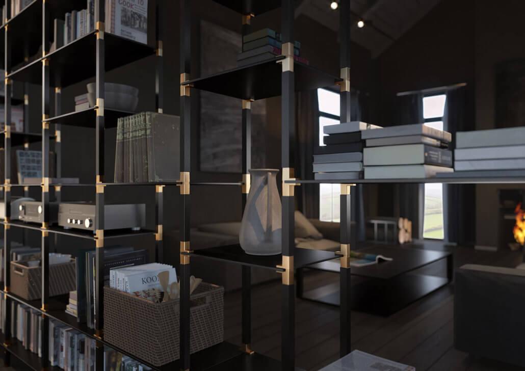 offene Wohnraumgestaltung